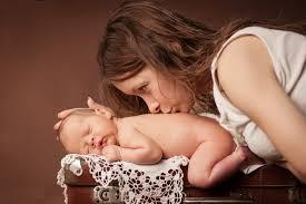 candida csecsemő